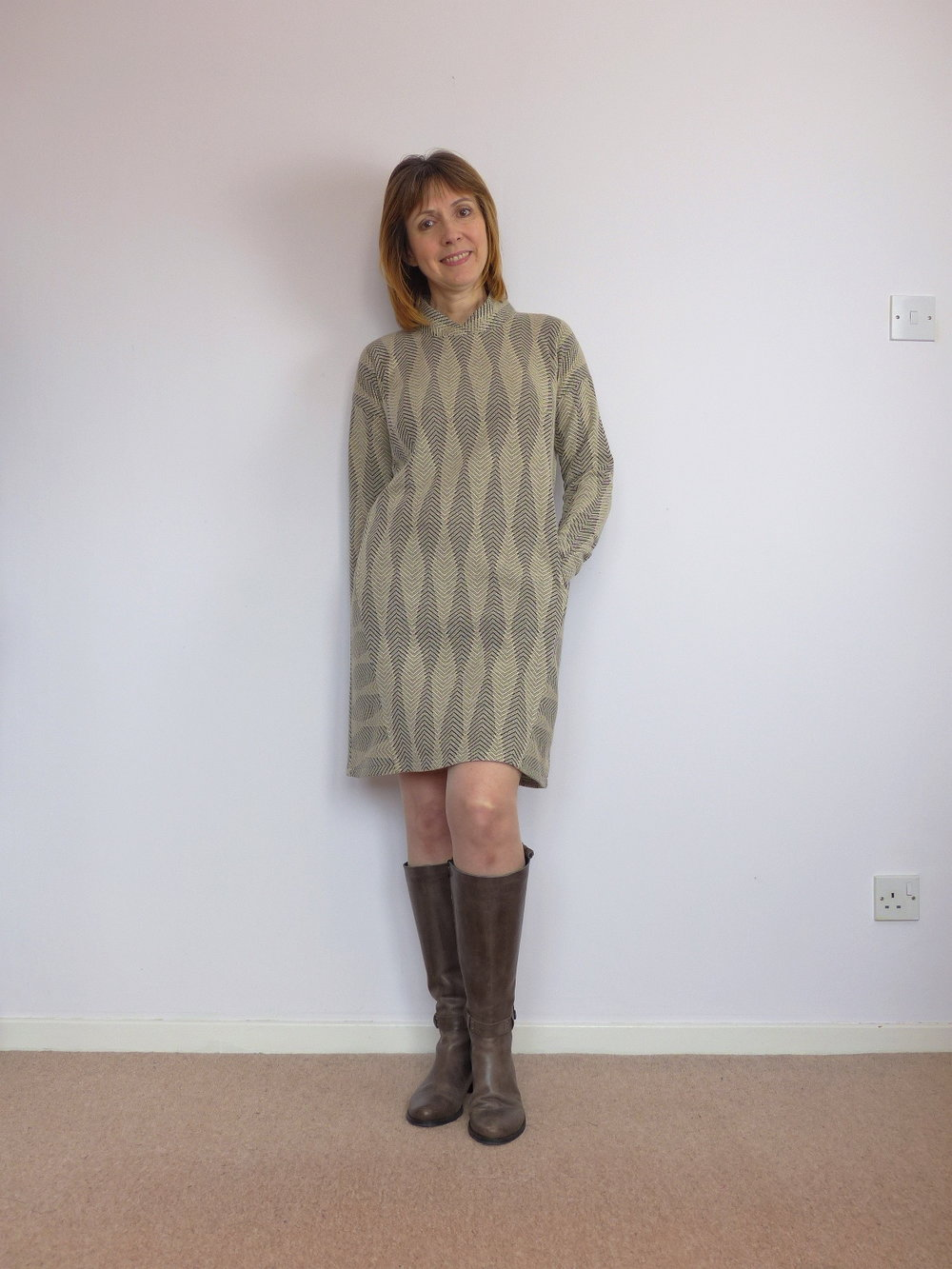 Lekala patterns sweater dress