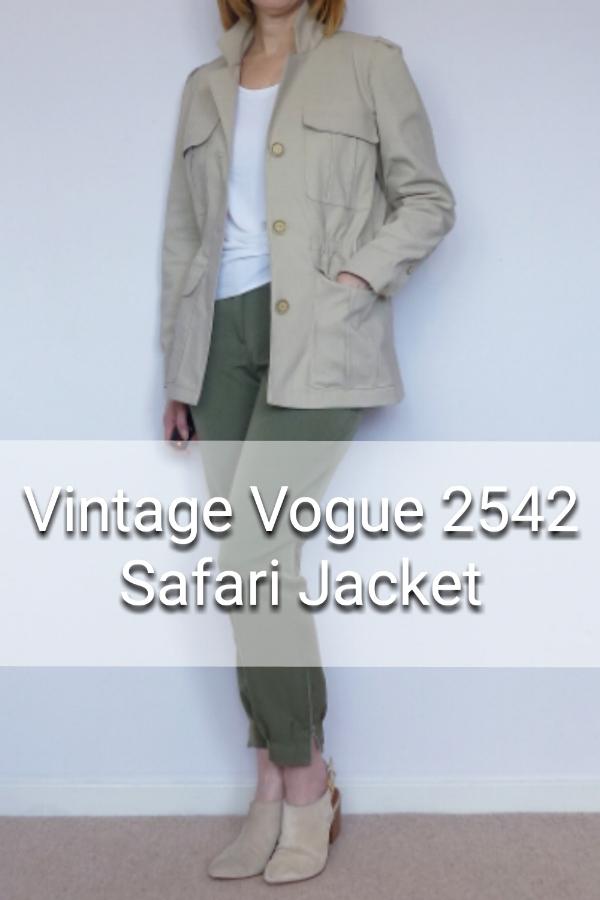 Spring Jacket. Vogue 2542