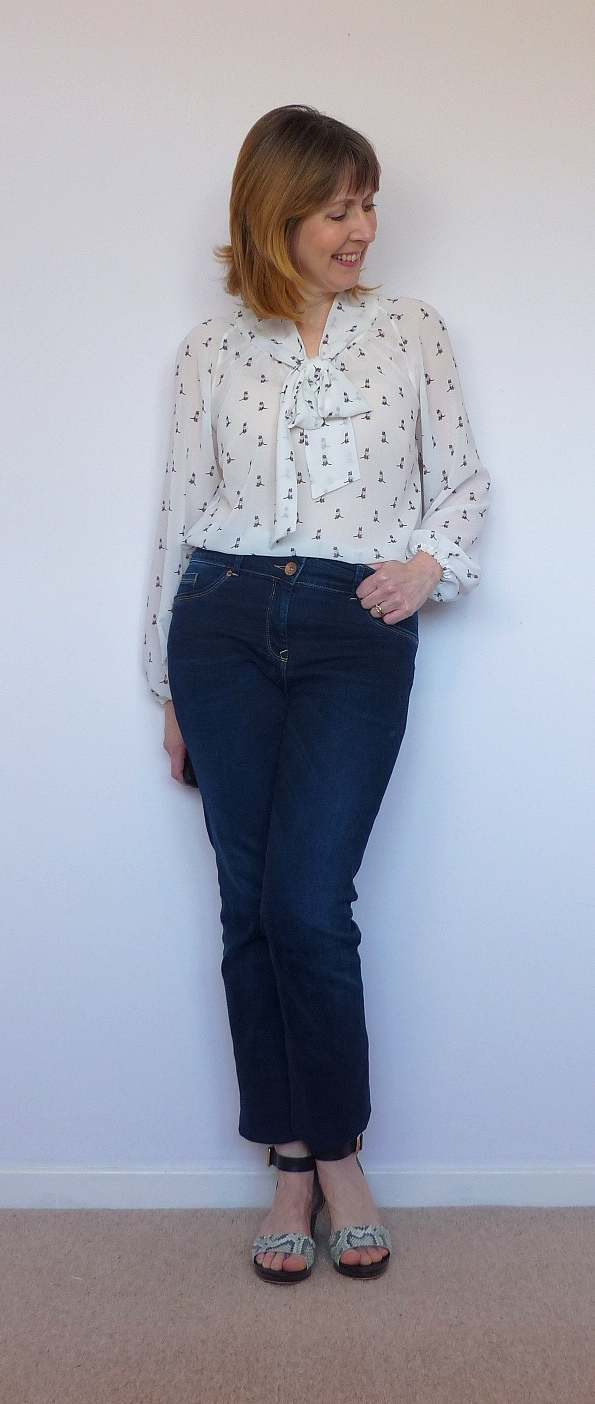 Pussy bow blouse. Simplicity 2406