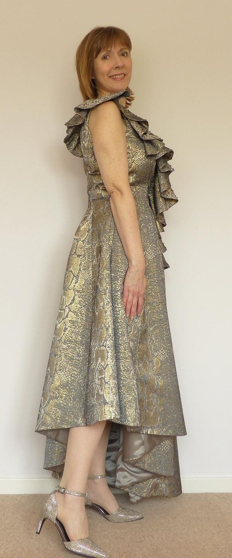 An evening dress fit for a ball
