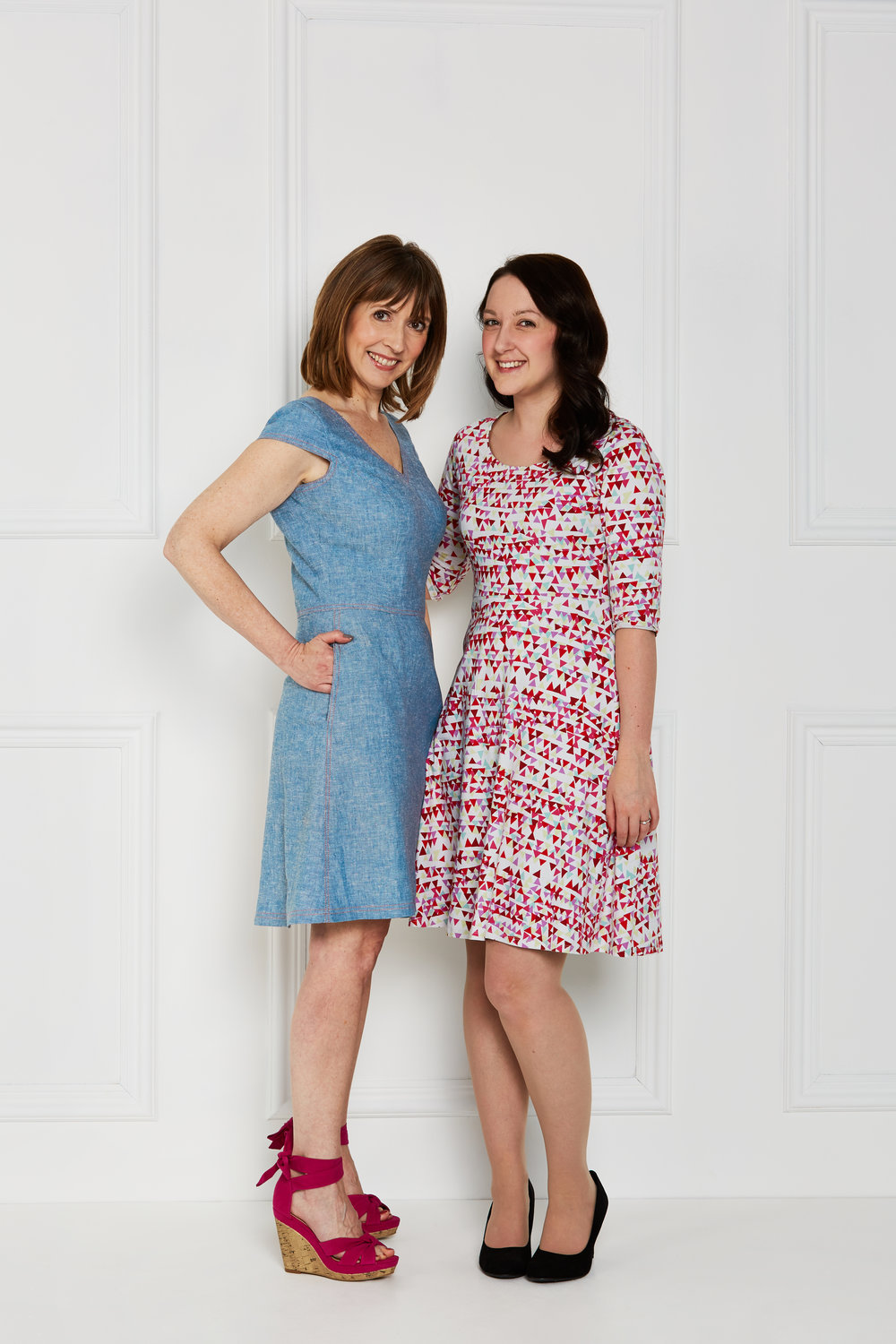 Me and Amy, Love Sewing's editor