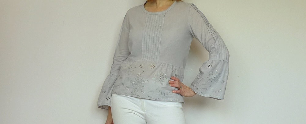 How to...tucks and box pleat sleeve details
