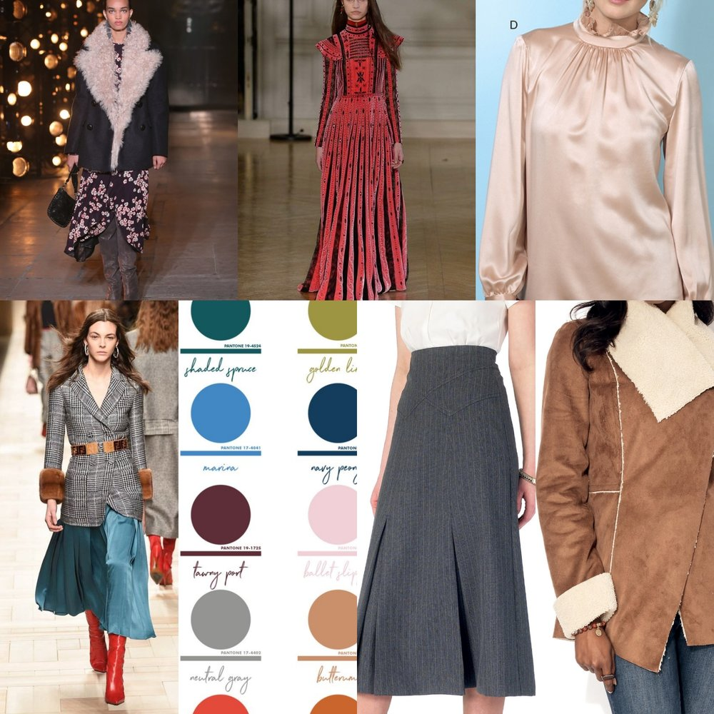 Fall/Winter '17 trends and sewing inspiration