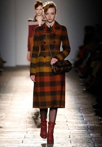 Bottega Veneta: Plaid