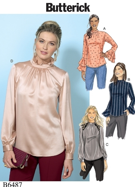 Fall/Winter '17 trends and sewing inspiration. Butterick 6487