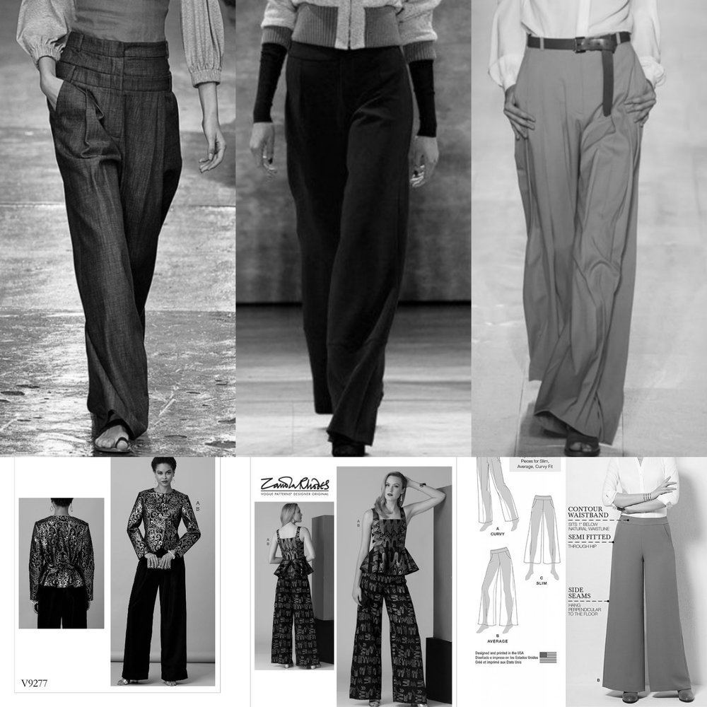 Sewing the trends: Wide-leg pants 101