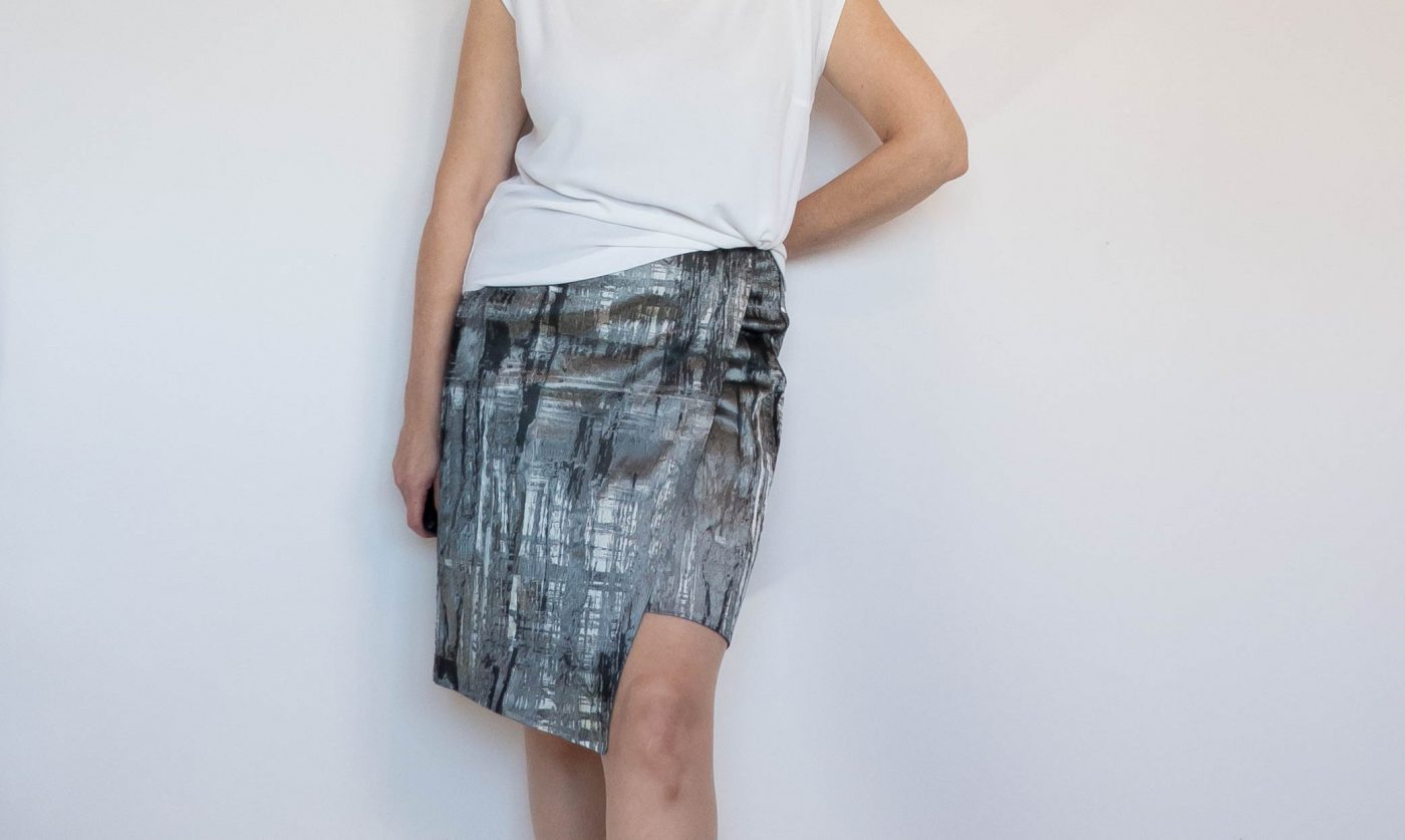 Simple wrap skirt title pic