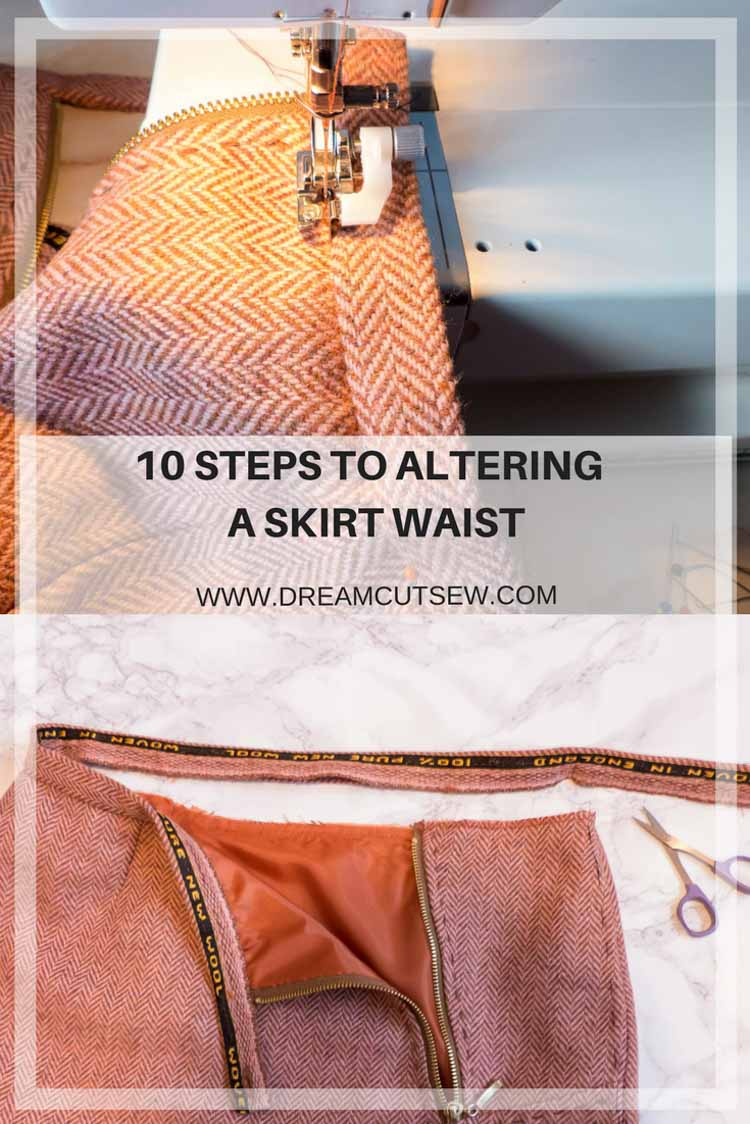 10 steps to altering a skirt waist