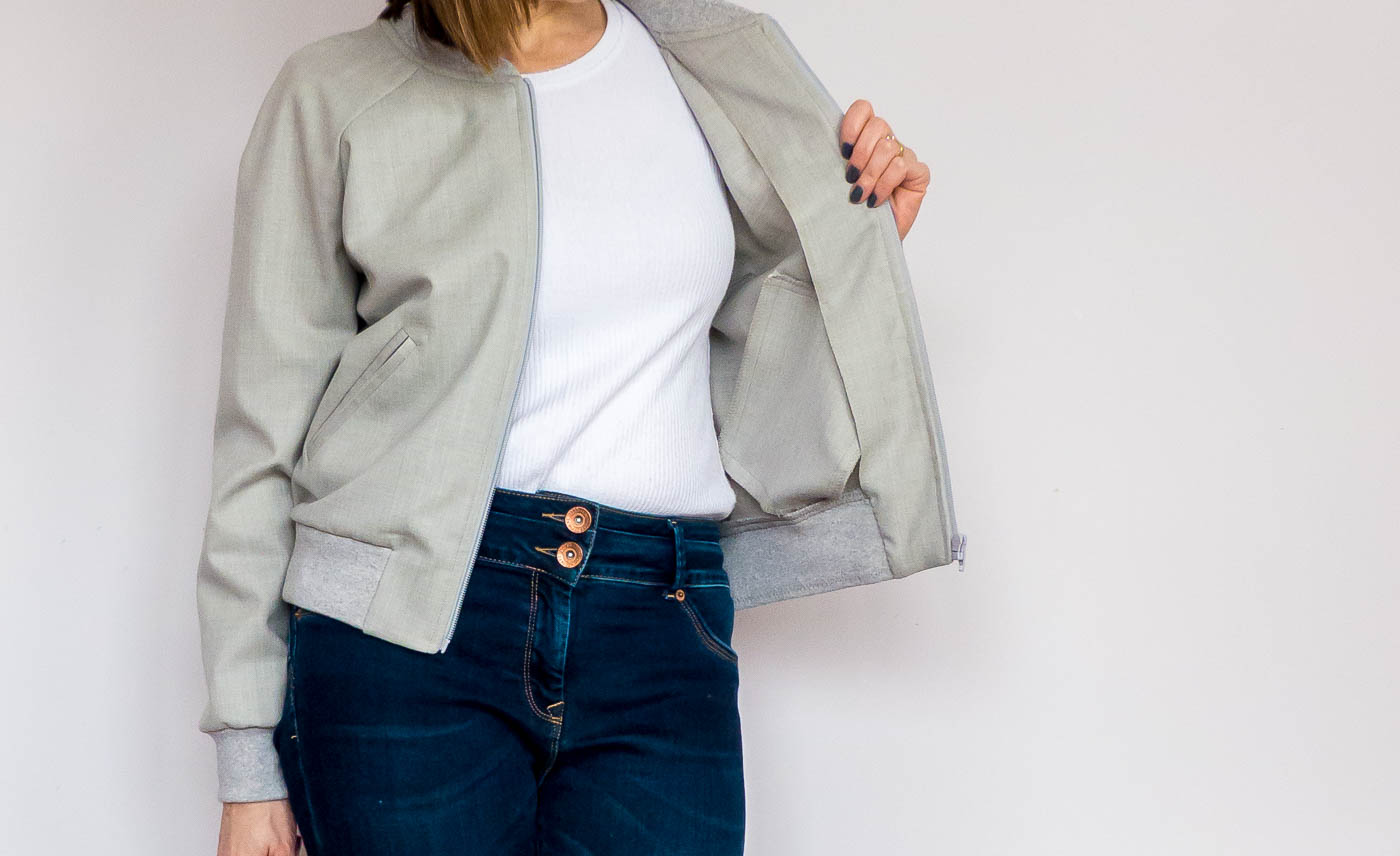 Bomber Jacket from Street Style Patterns