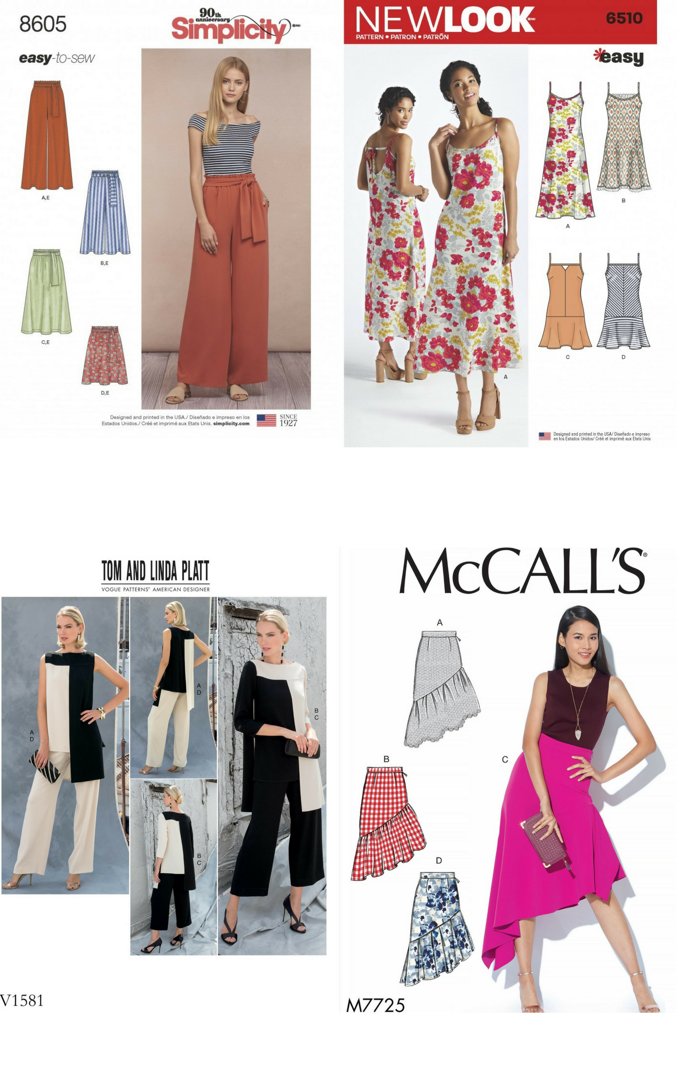 Spring Trends 2018 Sewing Inspiration