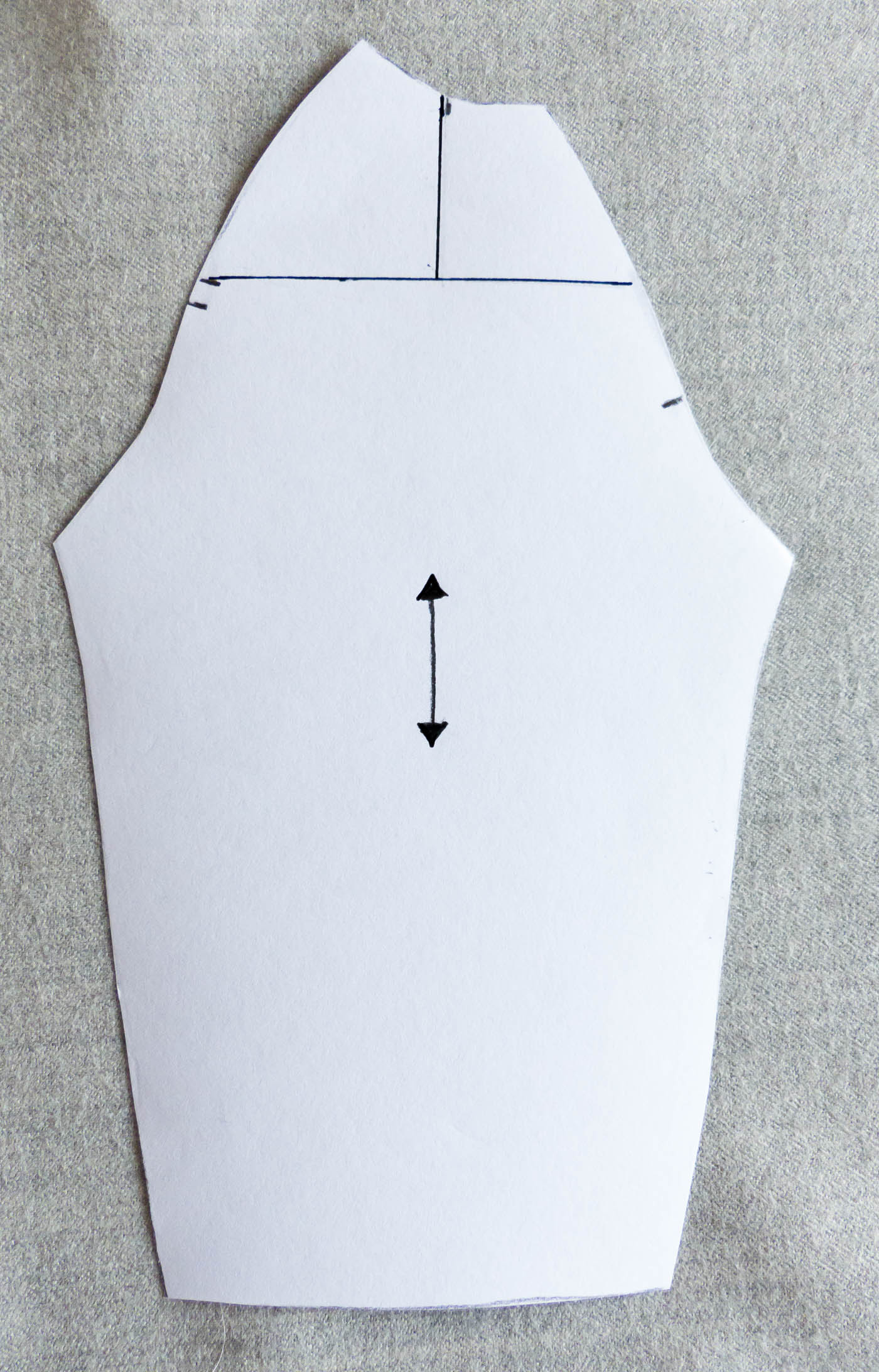 Adapting sleeve patterns for square or forward rolling shoulders