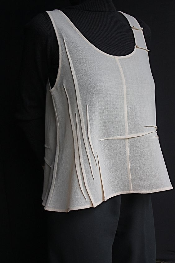 10 ideas using sewing tuck details. LYNN & K META REINTSEMA