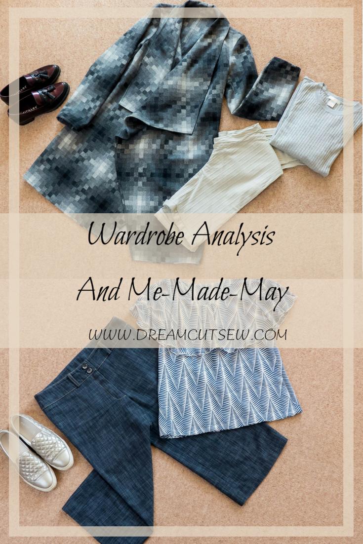 Wardrobe Analysis and Me-Made-May