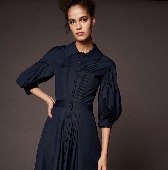 10 ideas using sewing tuck details. Zac Posen