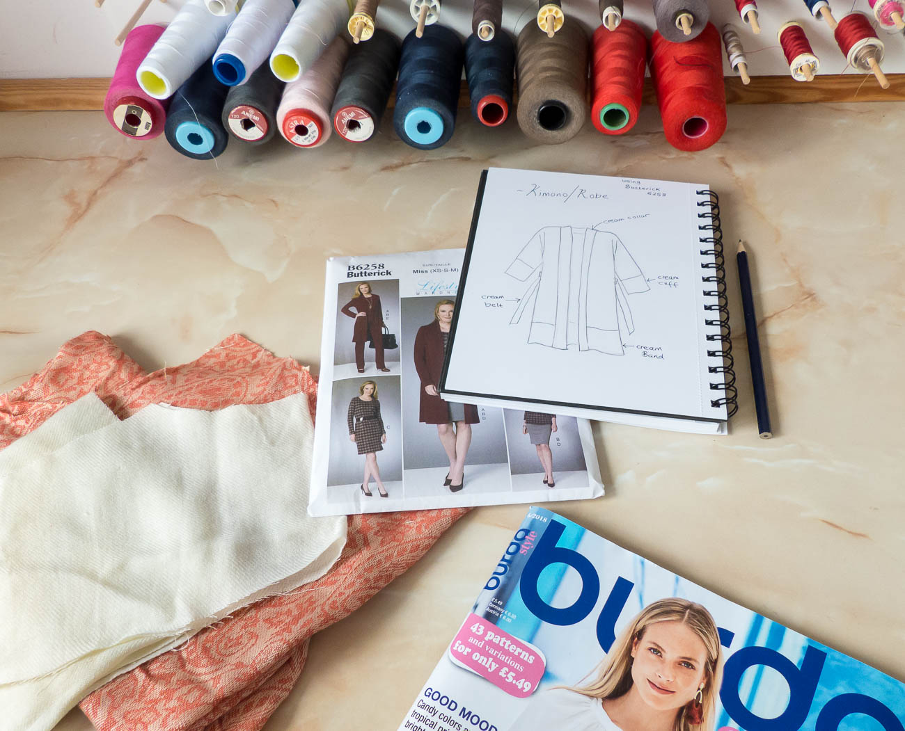 Sewing Plans and Exciting News