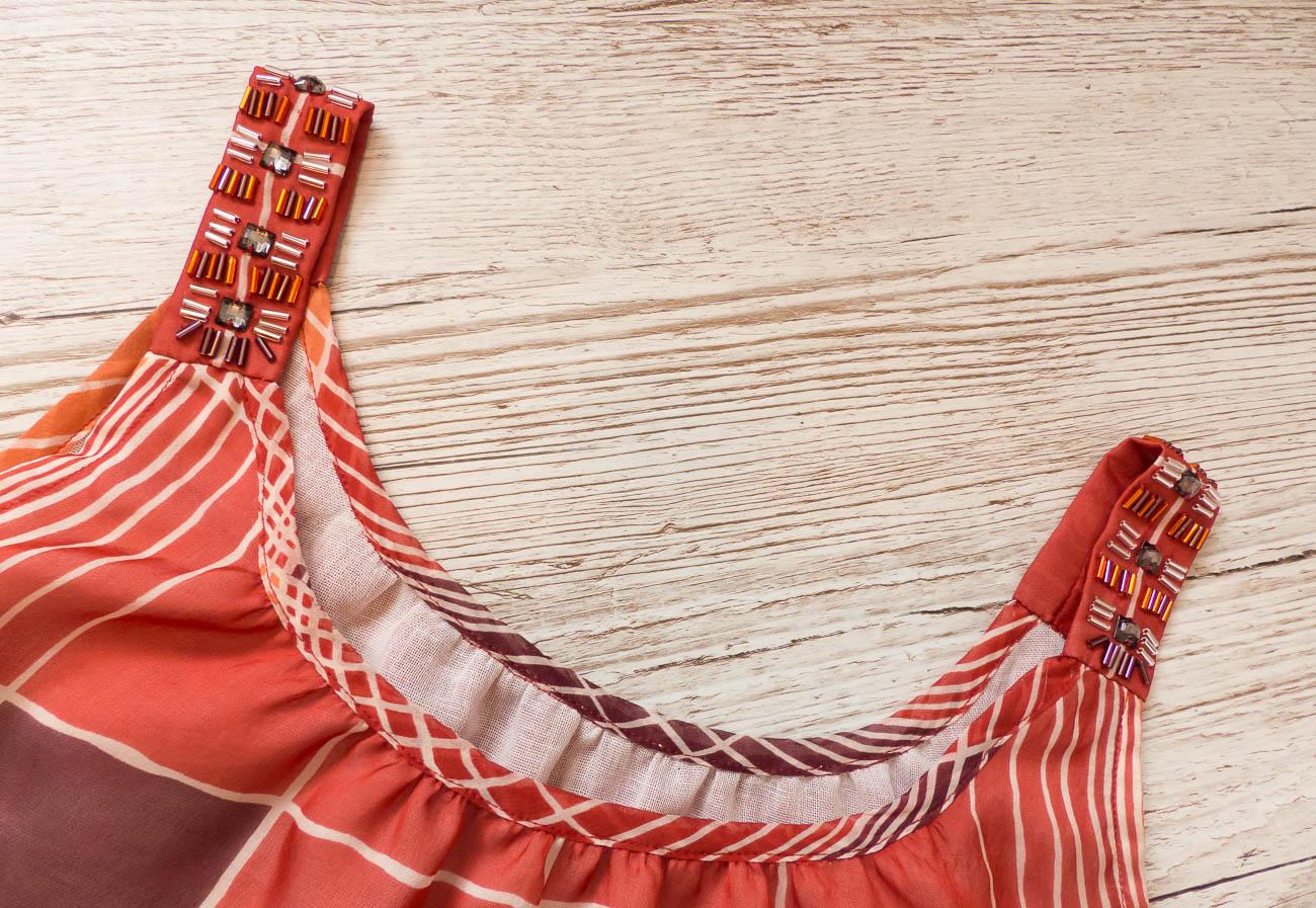 Silk Chiffon BurdaStyle Cami 101 05/2013