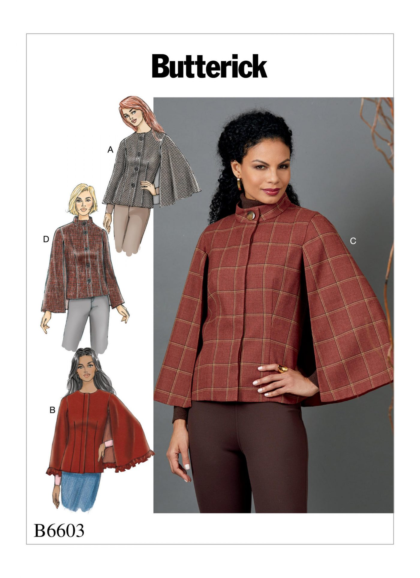 B6603 Autumn/Winter '18 Trends to inspire your sewing