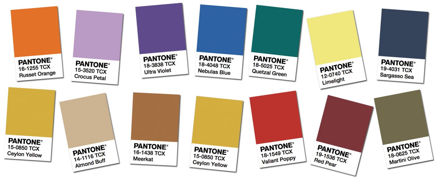 PANTONE-Autumn/Winter '18 trends to inspire your sewing