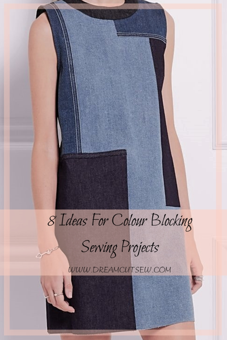 8 ideas for colour blocking sewing projects
