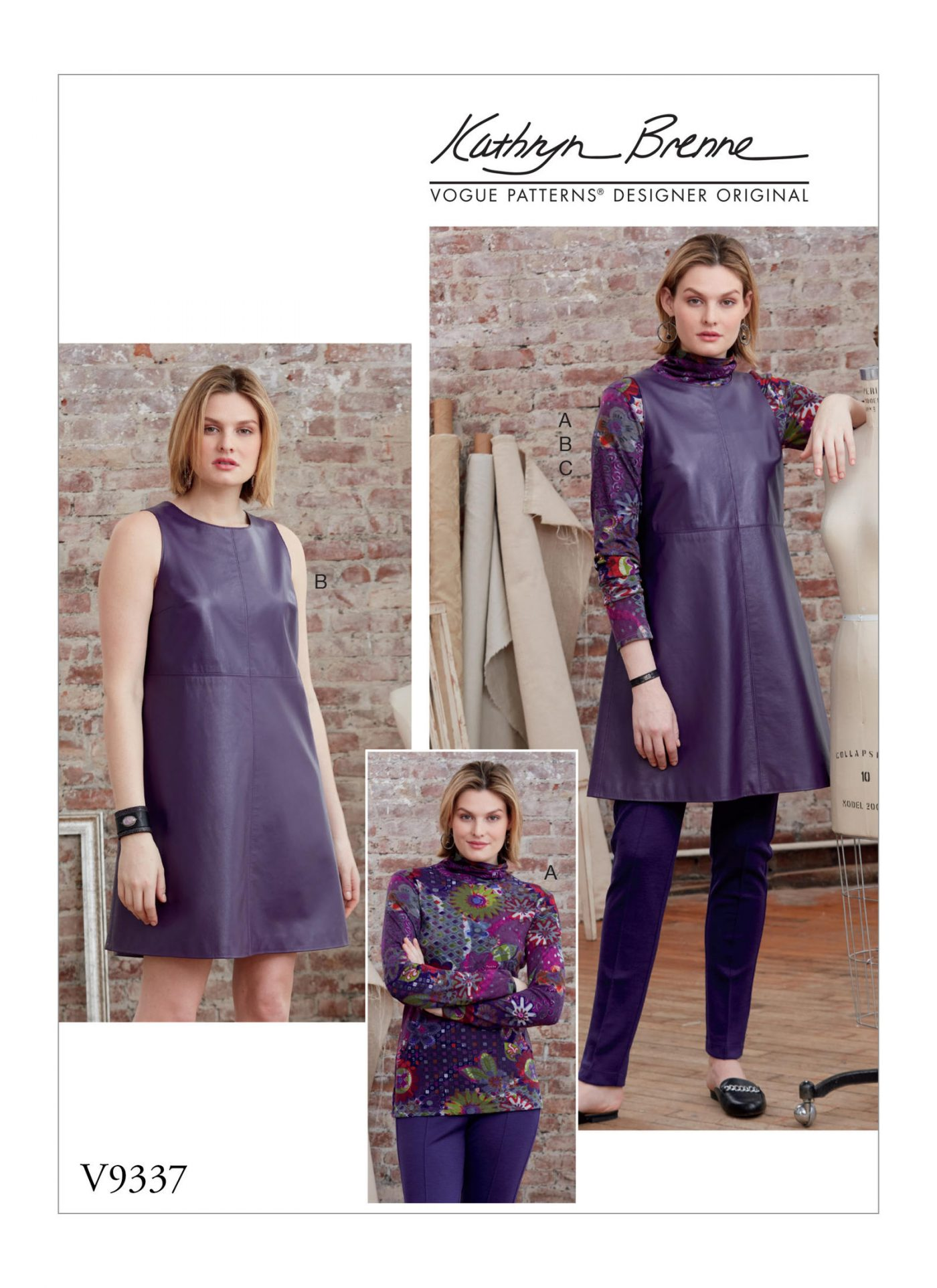 V9337 Autumn/Winter '18 Trends to inspire your sewing
