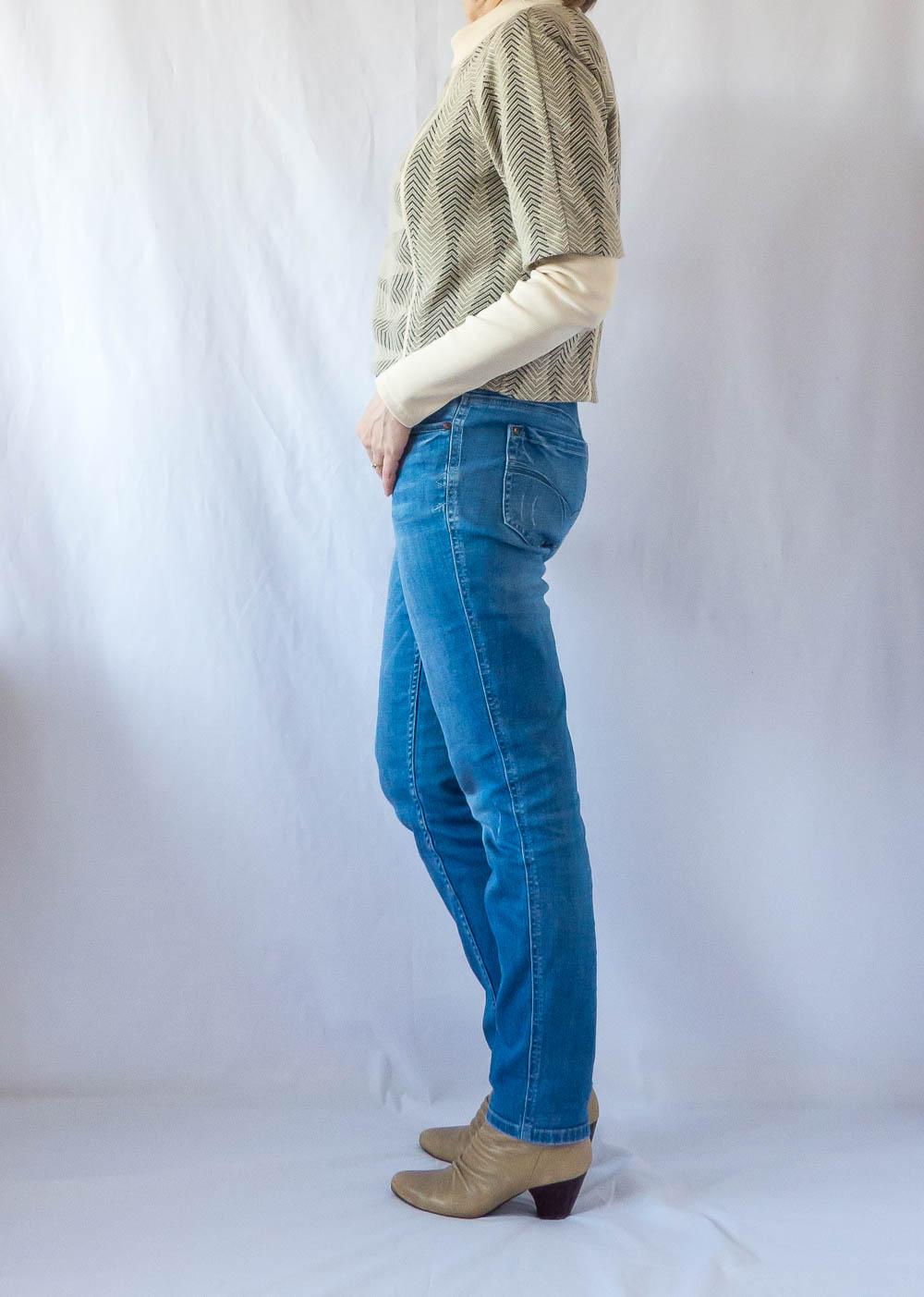 Short Sleeved Raglan Top by BurdaStyle