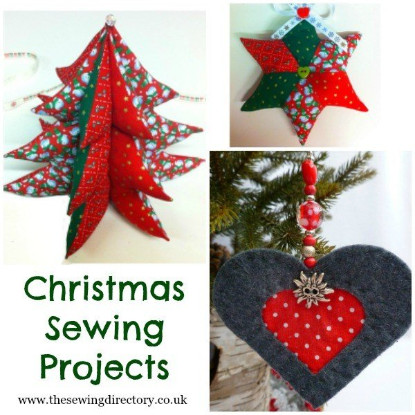 10 Christmas gift ideas for sewers. Sewing projects
