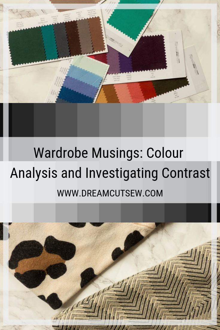 Wardrobe musings: colour analysis and investigating contrast