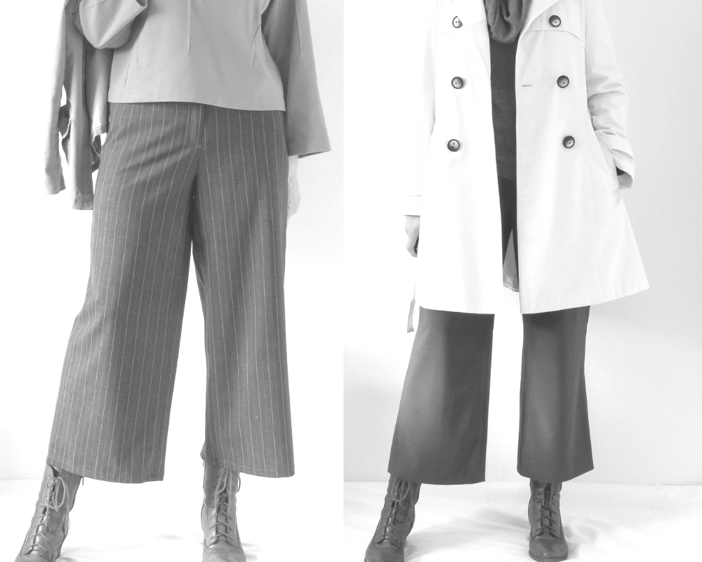 6 Ways To Style McCalls 7445 for OWOP