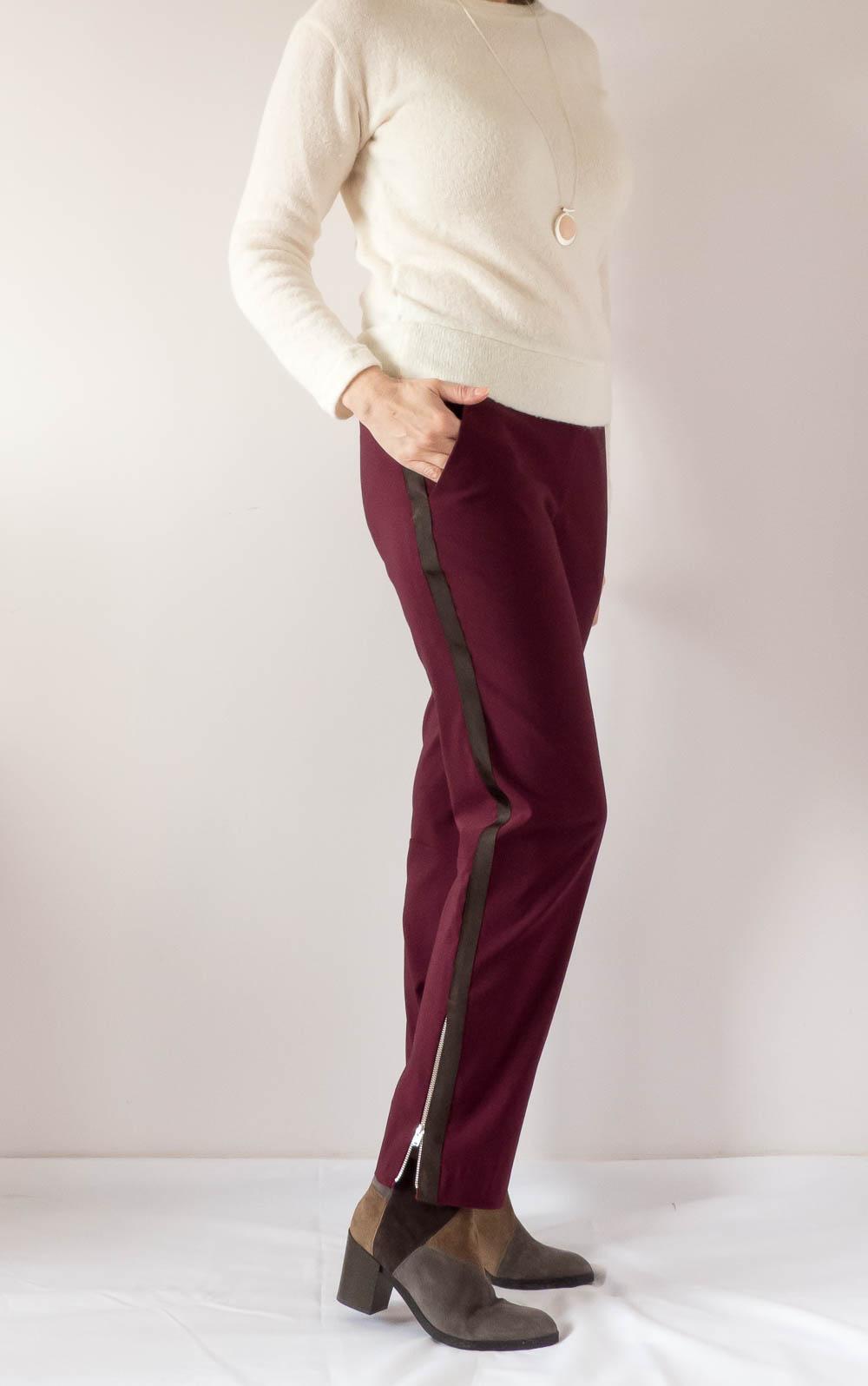 BurdaStyle Side stripe pants