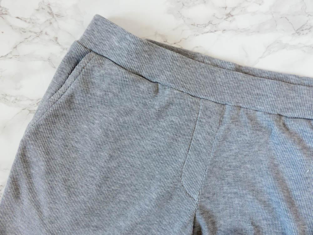 DIY Workout Pants: BurdaStyle 112 03/2014. Front pocket
