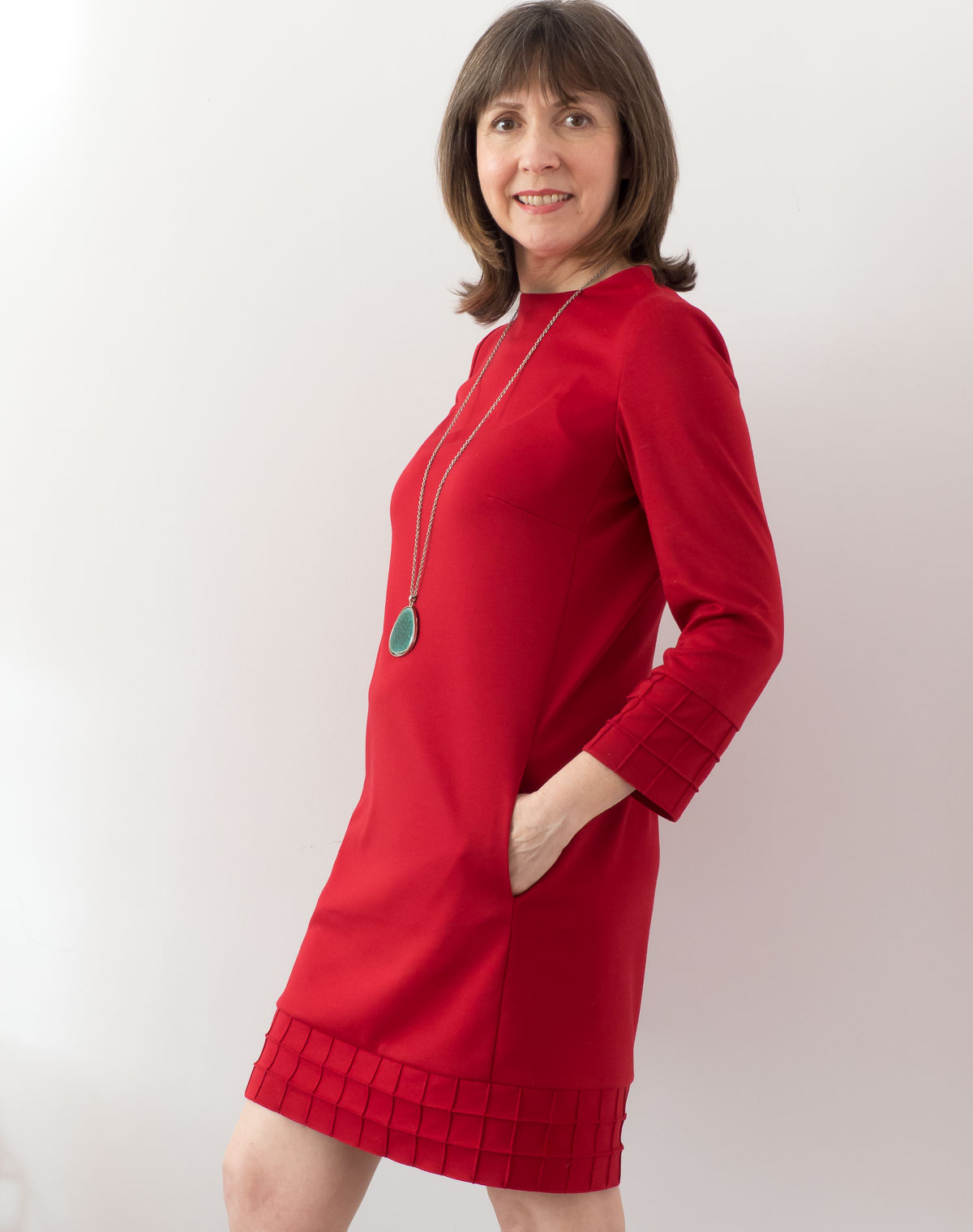 BurdaStyle Sweater Shift Dress