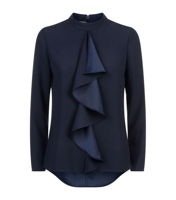 Ted Baker Ruffle blouse: 8 inspiring Ways With Ruffles And Flounces