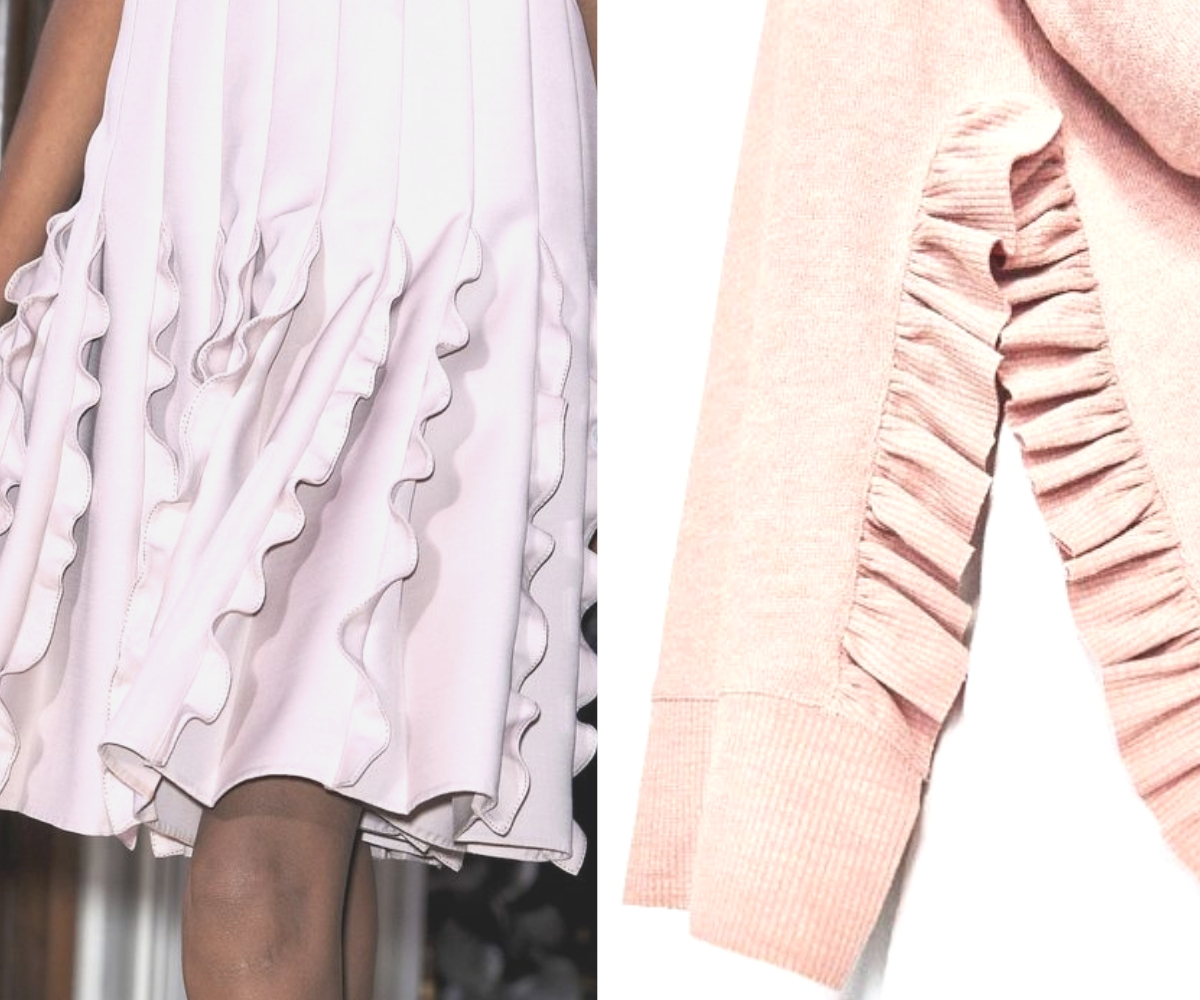 8 inspiring Ways With Ruffles And Flounces