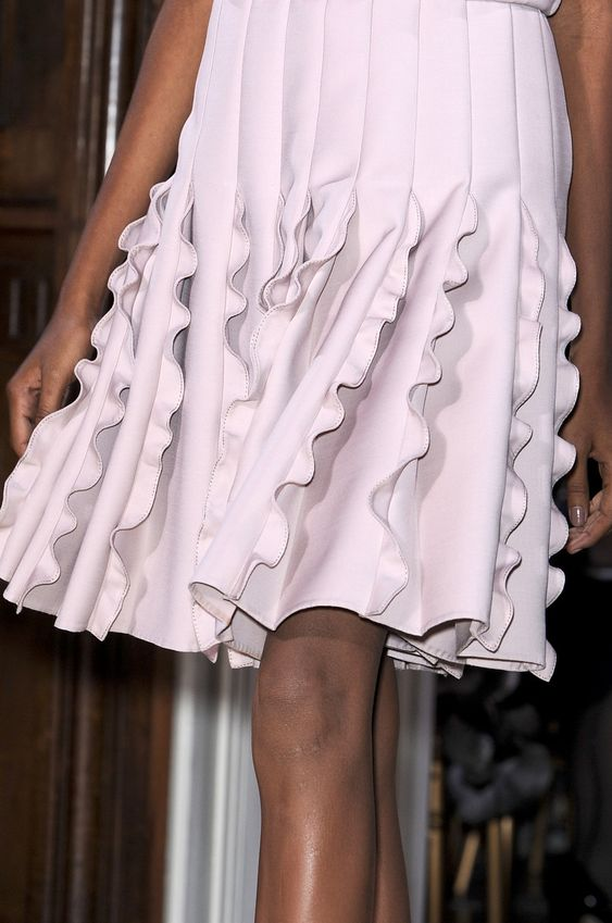Valentino: 8 inspiring Ways With Ruffles And Flounces