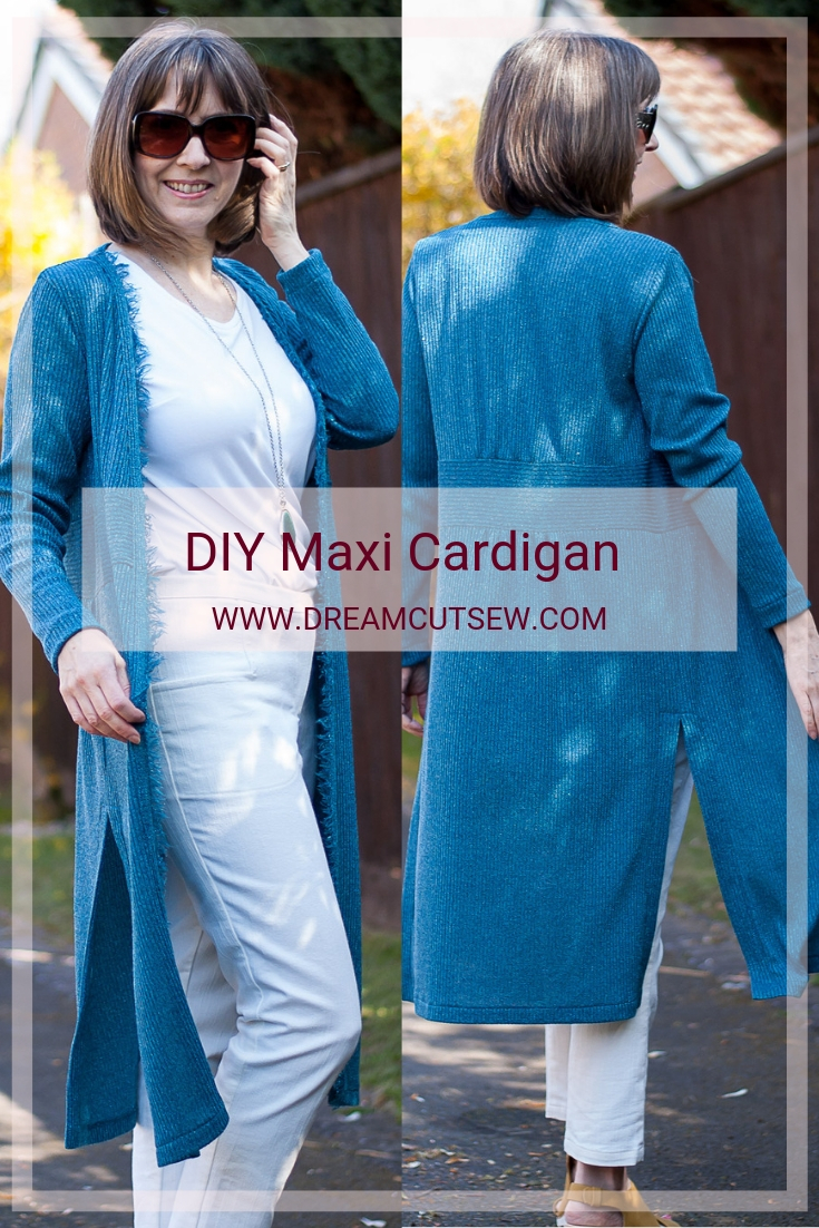 DIY Maxi Cardigan