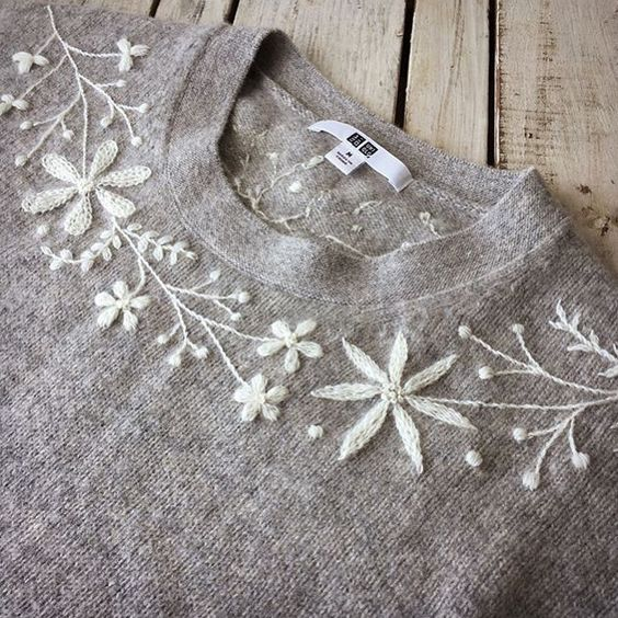 7 inspiring ideas for embroidery