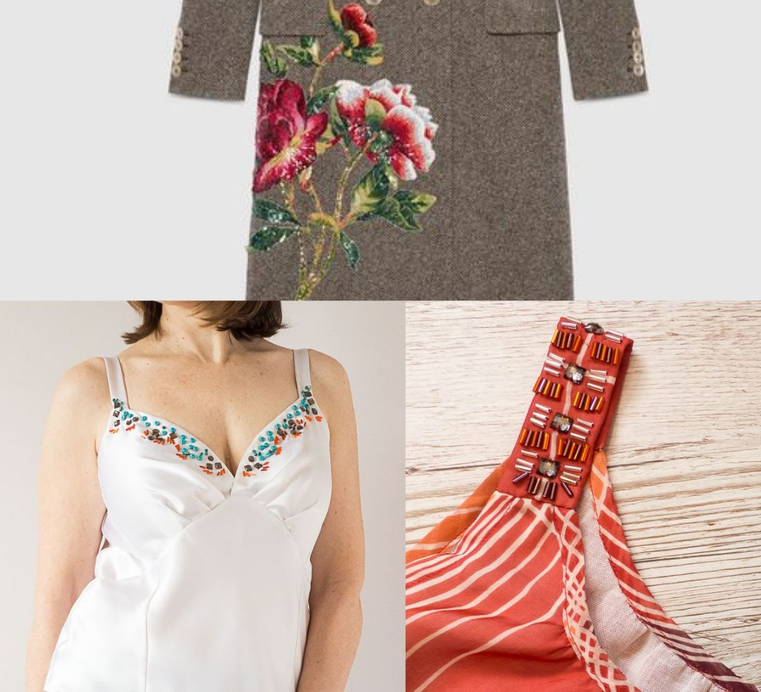 7 inspiring ideas for beading and embroidery