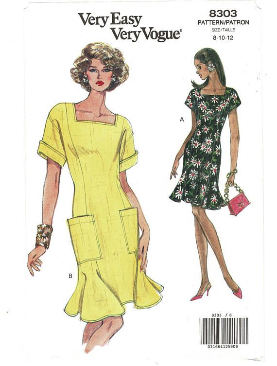 Vogue 8303 Summer dress pattern
