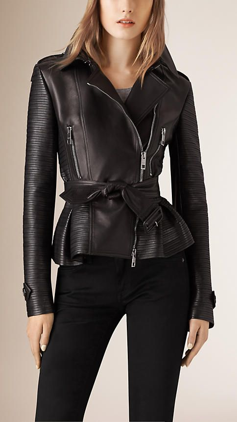 5 things inspiring me now. Burberry leather jacket
