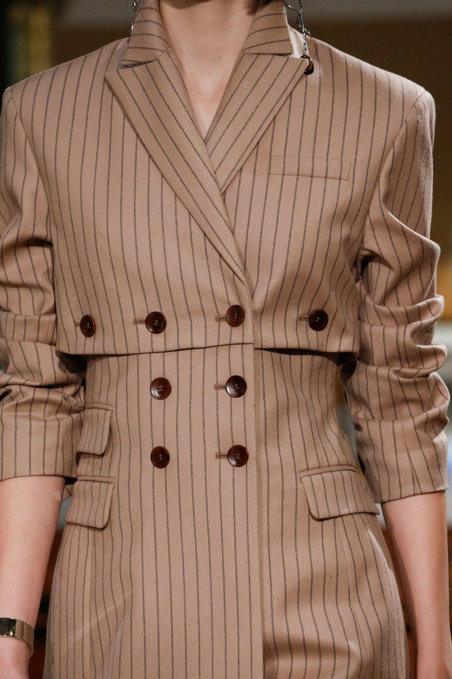 Altuzarra jacket with button detail