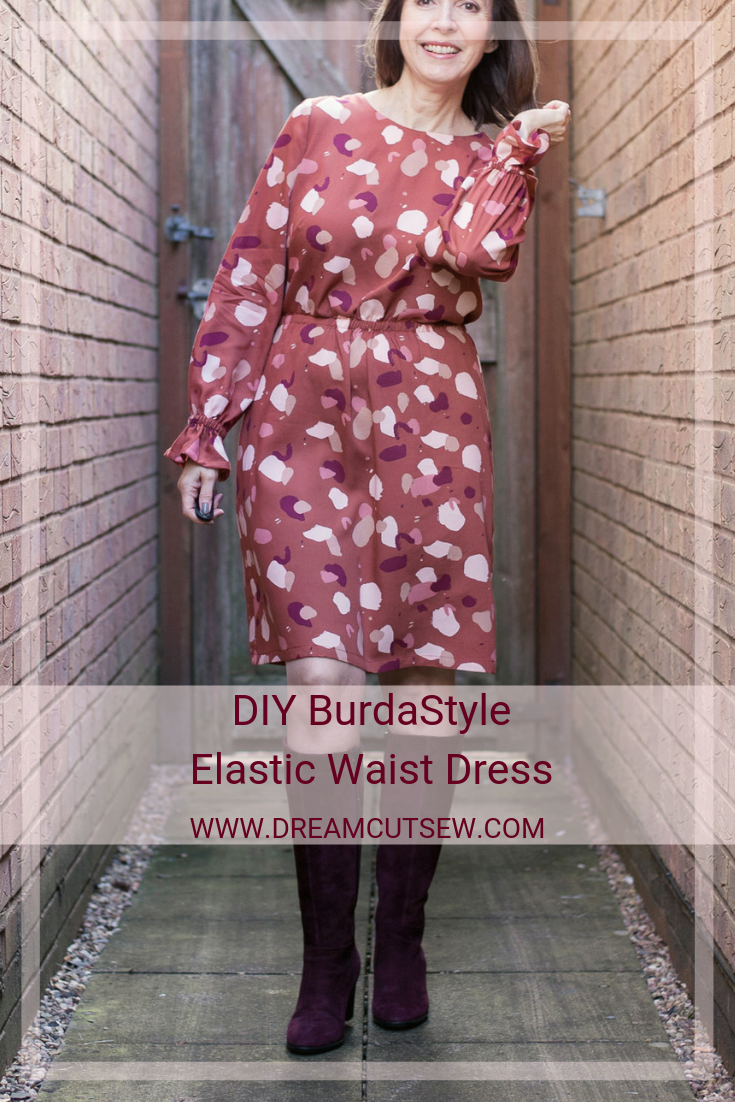 DIY Elastic waist dress