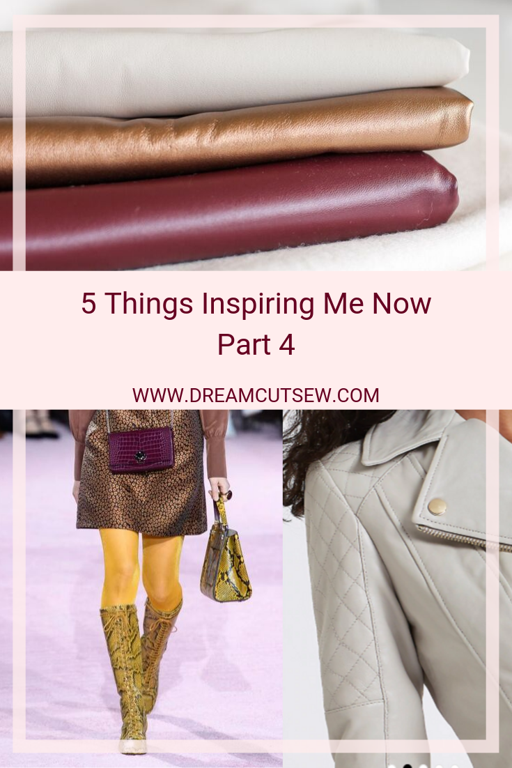 "Pinterest image for ""5 things Inspiring me now part 4"""