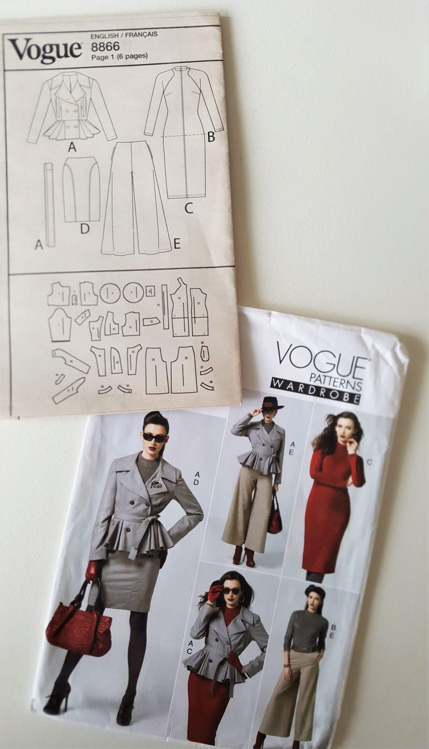 OOP Vogue 8866