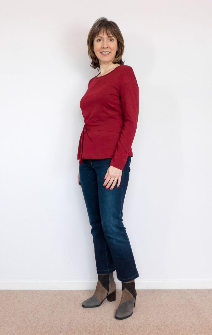 BurdaStyle  waist-detail top