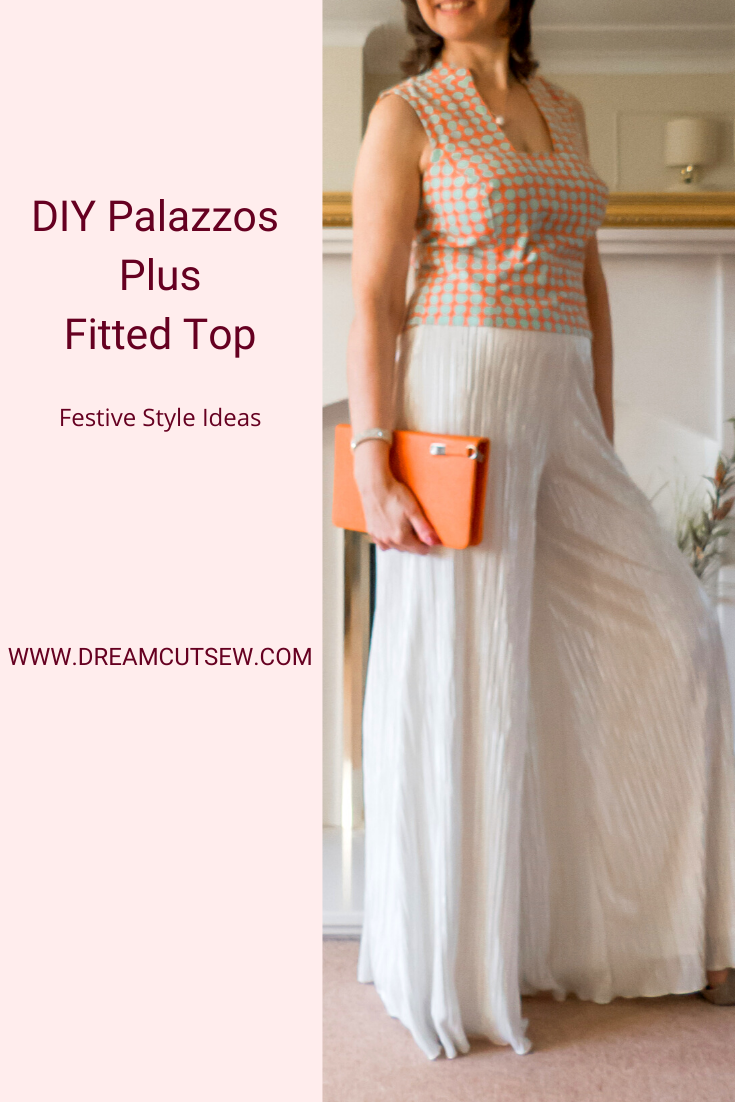 Pinterest image for Palazzos plus fitted top