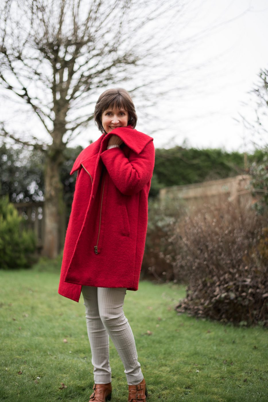 DIY Red Coat