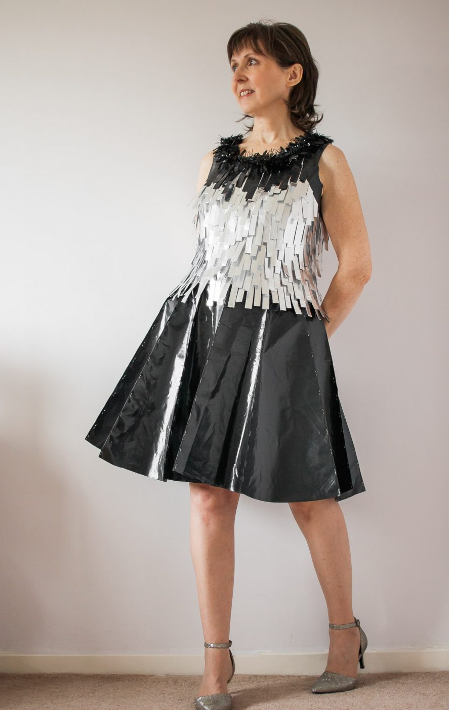An Unconventional Cocktail Outfit