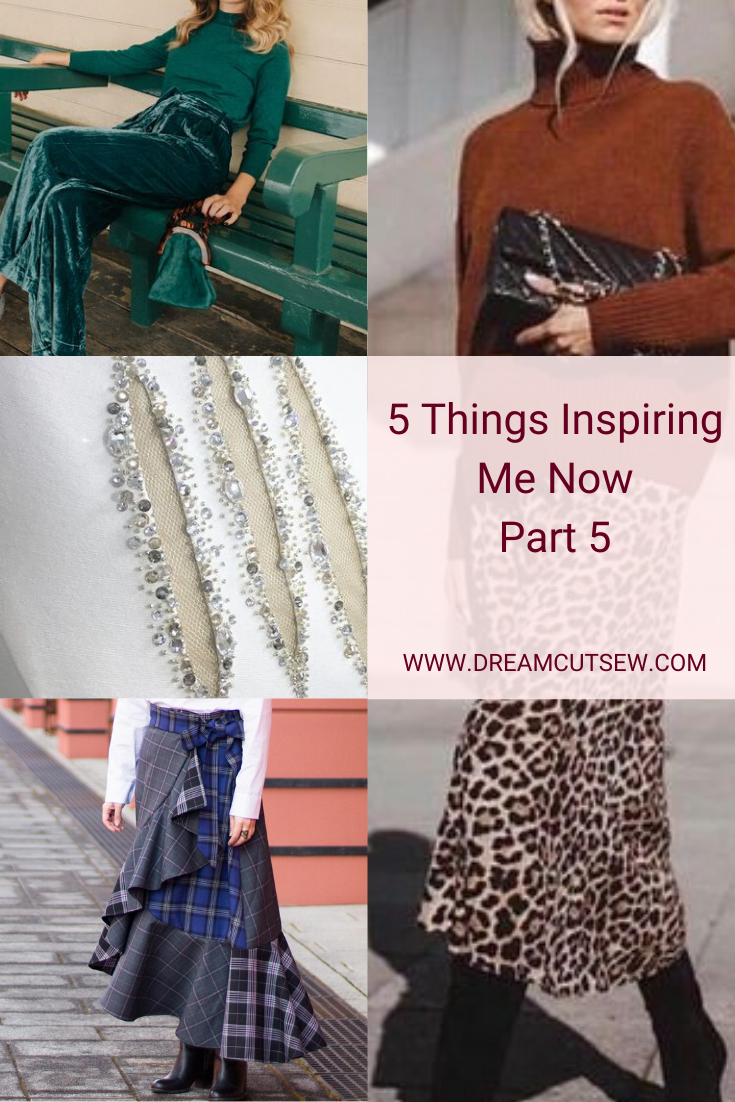 5 Things Inspiring Me Now Part 5 Pinterest Image