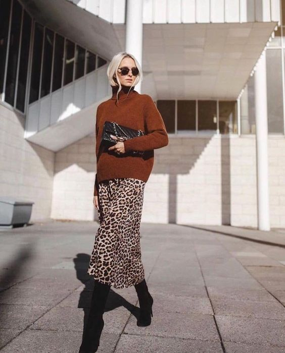 5 Things Inspiring Me Now Part 5: Animal print. Street Style image