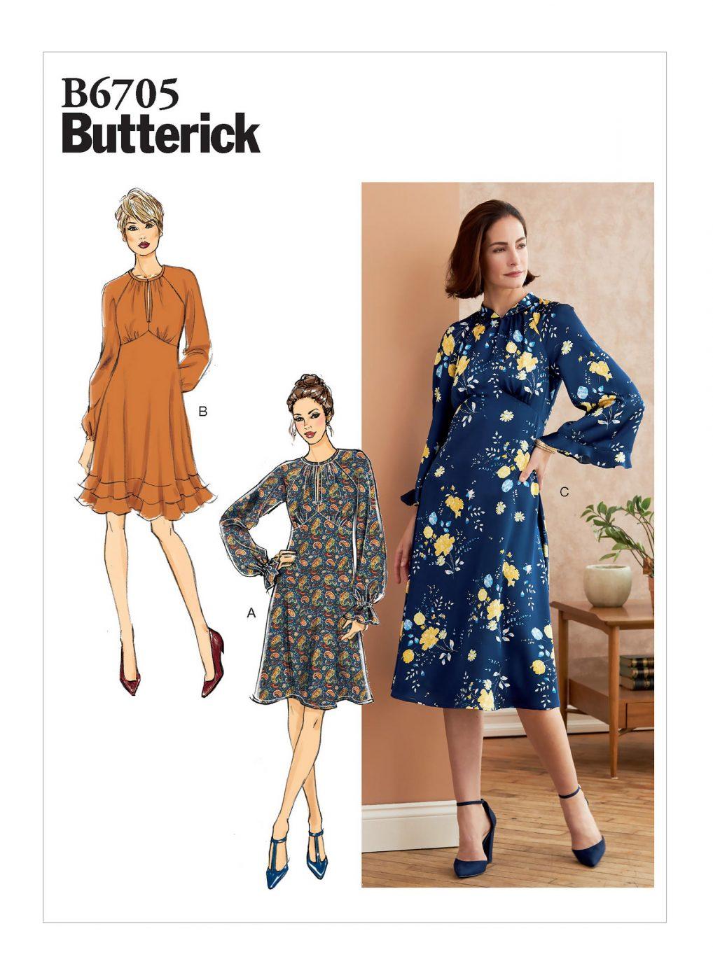 : Butterick 6705